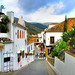 Steep street in Mijas - Spain