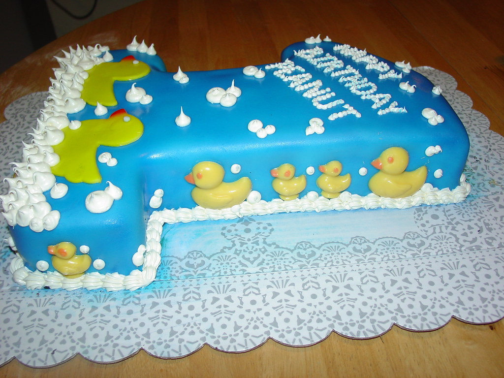 First Birthday Cake Ducks Image Inspiration of Cake and Birthday