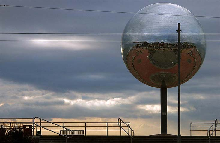 Photography - Blackpool Ball by Nicholas M Vivian