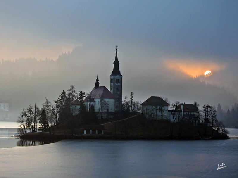 Lago Bled (Eslovenia)