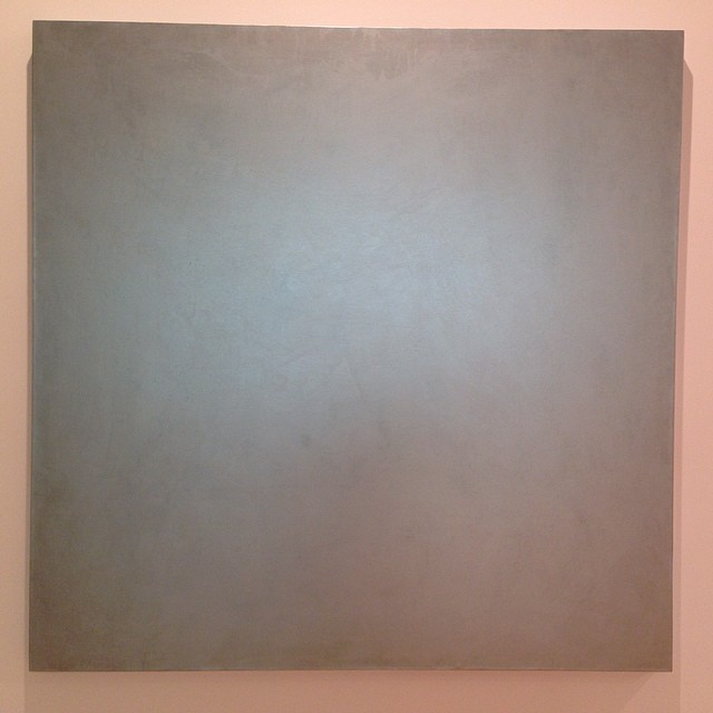 Contemporary art. Makes me think of the color grey. #deepthoughts