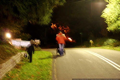 running home from trick or treating    MG 5813