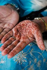 Adorned hand