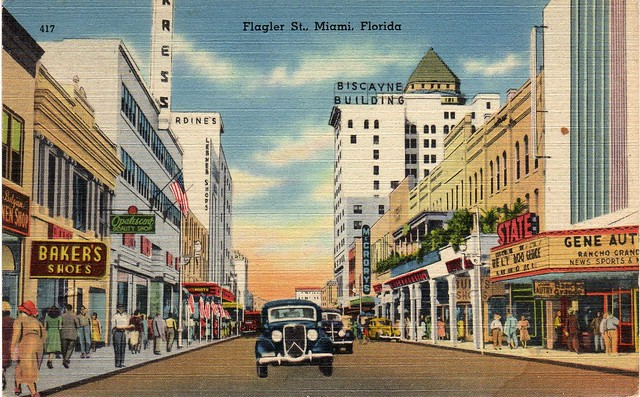 Downtown Miami Postcard