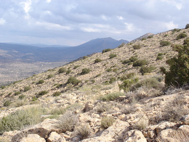 Adhrar n'Ah Frah seen from Djebel el Louz