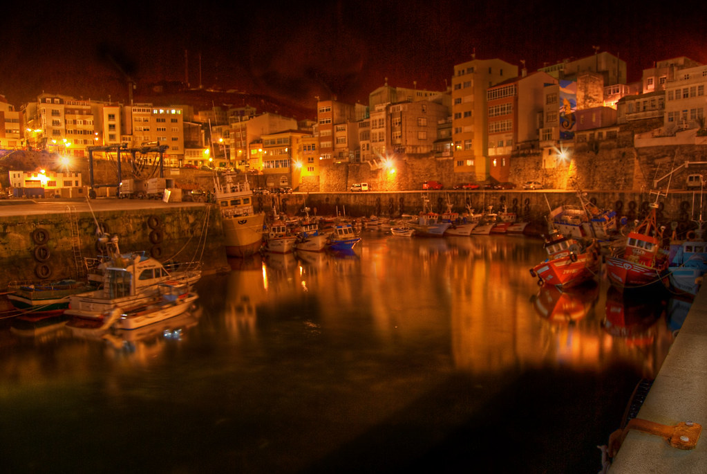 Malpica port