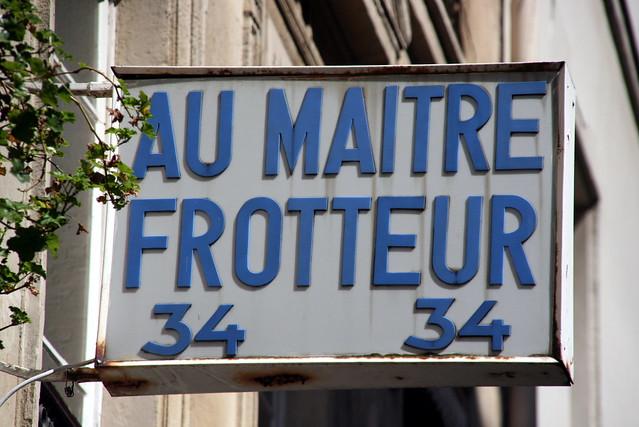 Header of frotteur
