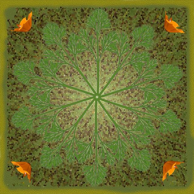 mosaic-poppy-leaf-circles | Flickr - Photo Sharing! Zz