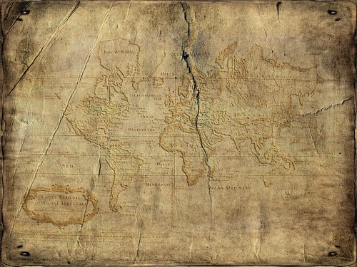 The gallery for --> Old Map Texture Photoshop