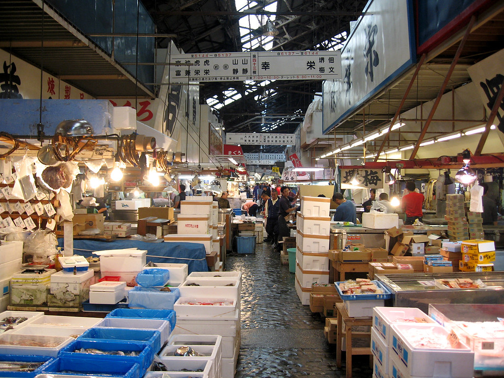 Biggest wholesale fish and seafood market for Wholesale fish market