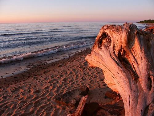 sunset summer usa beach michigan scenic calm greatlakes lakesuperior tranquil silvercity ontonagon michiganupperpeninsula ontonagoncounty michiganup scenicmichigan