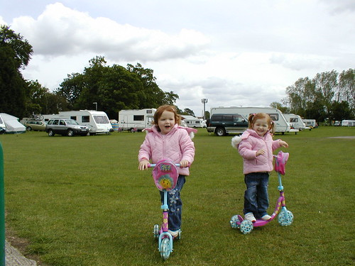 Thirsk Racecourse Caravan Club Site