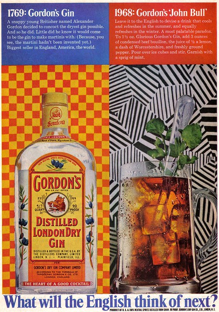 Vintage Ad #462: Gordon's Goes Trippy