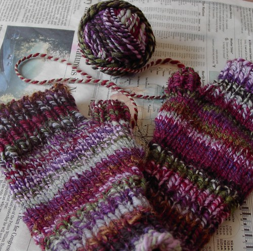 lavender mitts