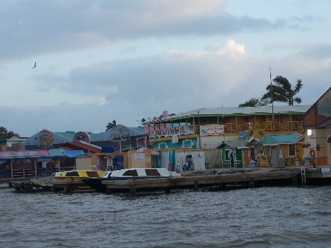 Belize City early morning