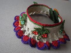 Papaver Nudicaule Freeform Crochet Cuff