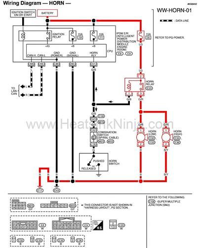 wiring diagram horn flickr photo sharing. Black Bedroom Furniture Sets. Home Design Ideas