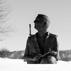 Angel Fire Memorial Statue