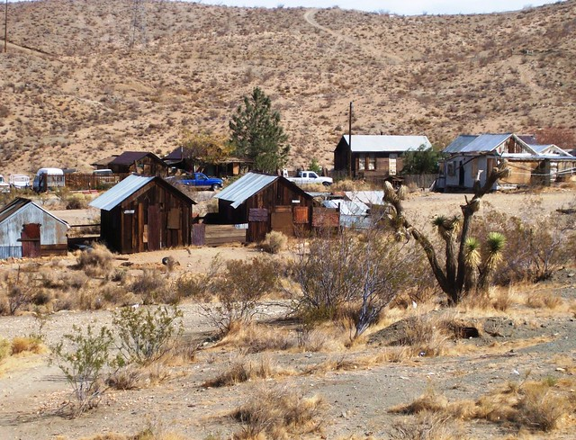 On the outskirts of town at Randsburg ghost town, CA - randsburg02x