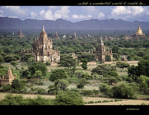 temple bravo asia burma buddhism myanmar bagan birmania