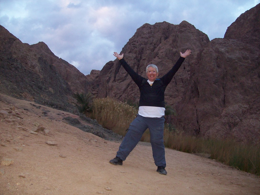 Me in Dahab Mountains