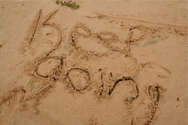 Keep Going Lake Huron Beach Oscoda Trip 9-25-09 15