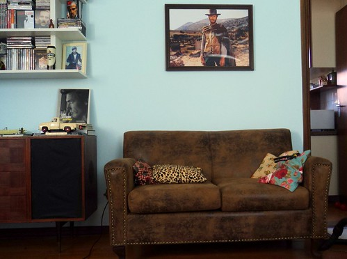 Clint Eastwood sofa