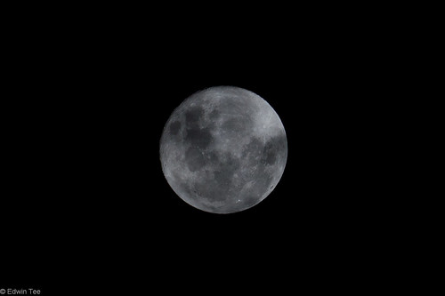 Full Moon (18/05/2011) from my backyard