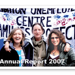 Brighton Unemployed Centre Families Project - Annual Report 2007 Front Cover
