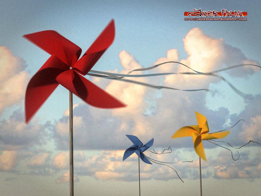 Cataventos ao vento by Jader Palma