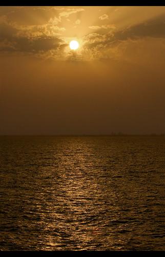 africa sea clouds sunrise canon mauritania canoneos30d canonef80200mmf28l