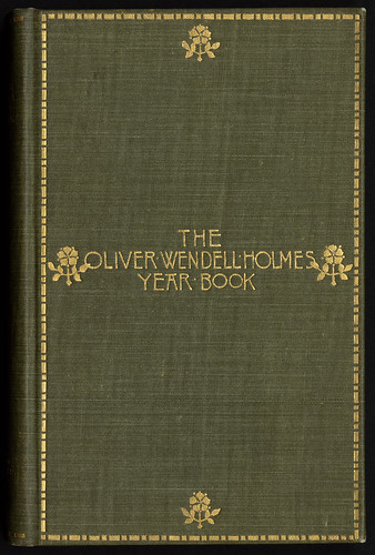 The Oliver Wendell Holmes year book [Front cover]