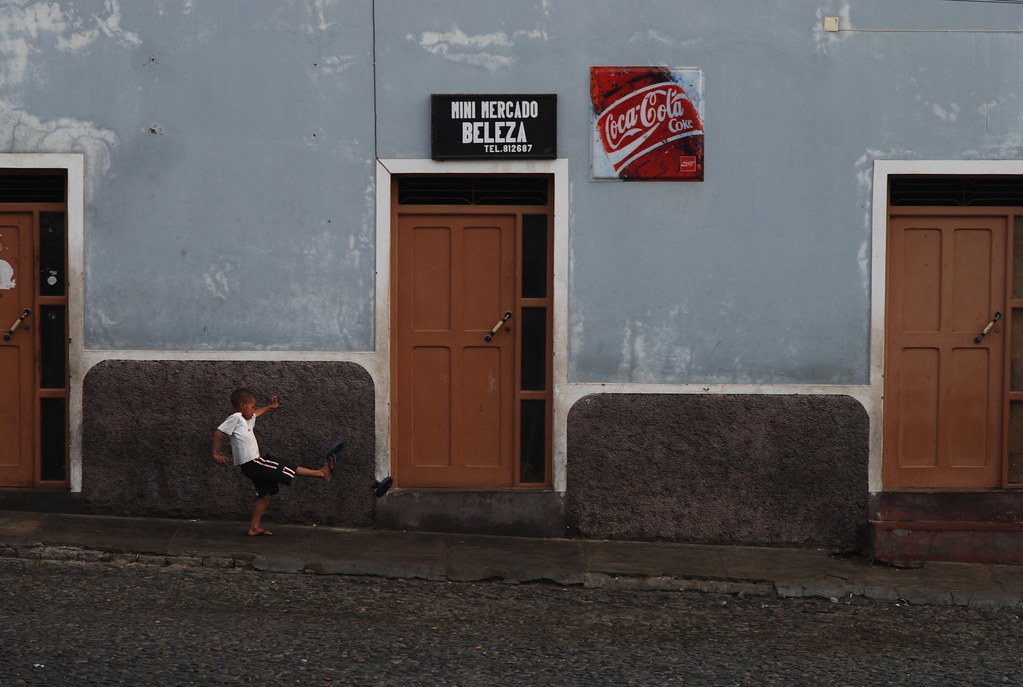 Morabeza au Cap-Vert - Coup de pied à Sao Filipe