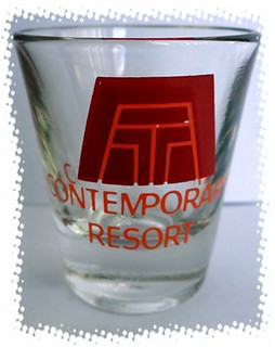 Contemporary Resort, Florida shotglass