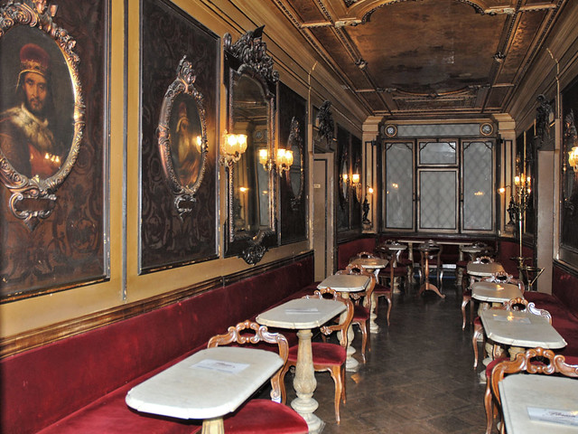 Cafe Connu Place Saint Marc A Venise