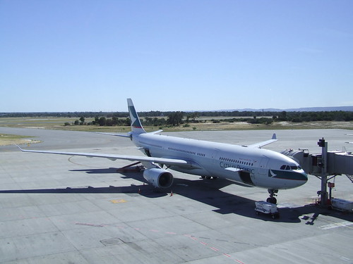 Cathay Pacific A330 Perth