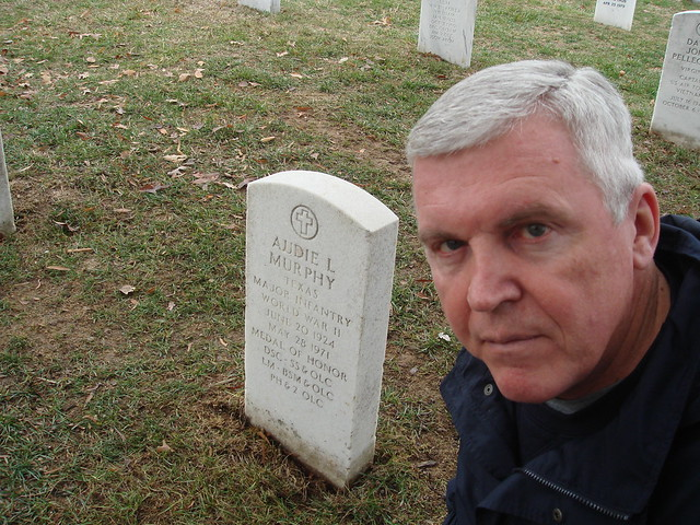 Dad At Audie Murphy S Grave Flickr Photo Sharing