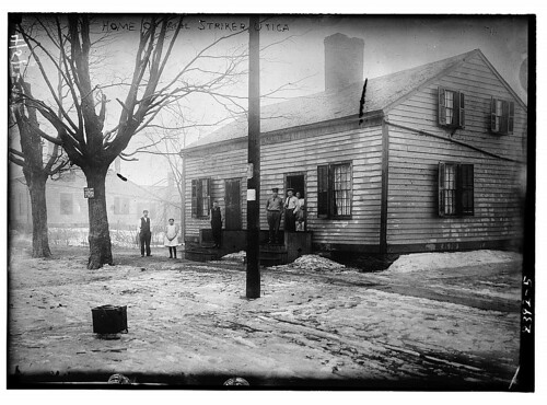 Home of mill striker, Utica  (LOC)