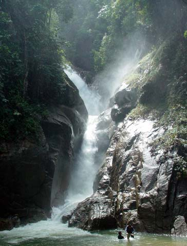 Chiling Falls, Selangor - 11 - the magnificent waterfall
