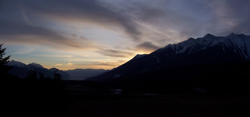 winter panorama snow mountains sunrise geotagged austria tirol edited stitched adlerhof wildermieming miemingerplateau rauherkopfflaurling rietzergrieskogel