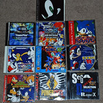 Sonic the Hedgehog music CDs