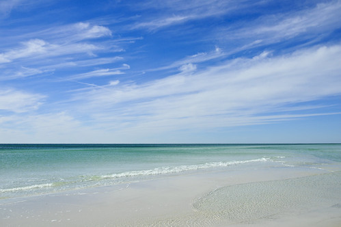 ocean sea sky white seascape clouds wow coast sand florida tranquility destin walton