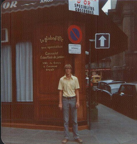 Me in Paris 1978