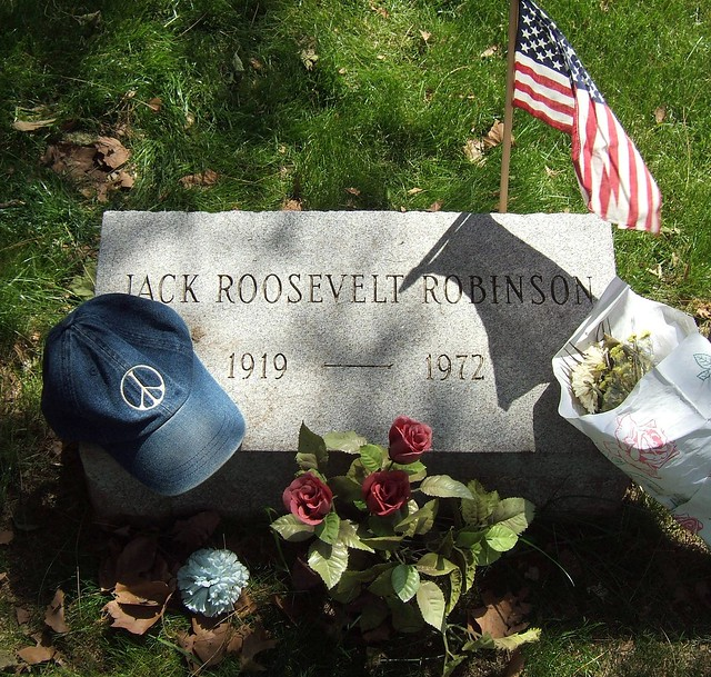 Jackie Robinson, Brooklyn Dodger, and the Peace Hat ...