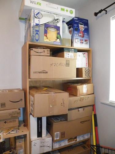 i'm living in a box a cardboard box