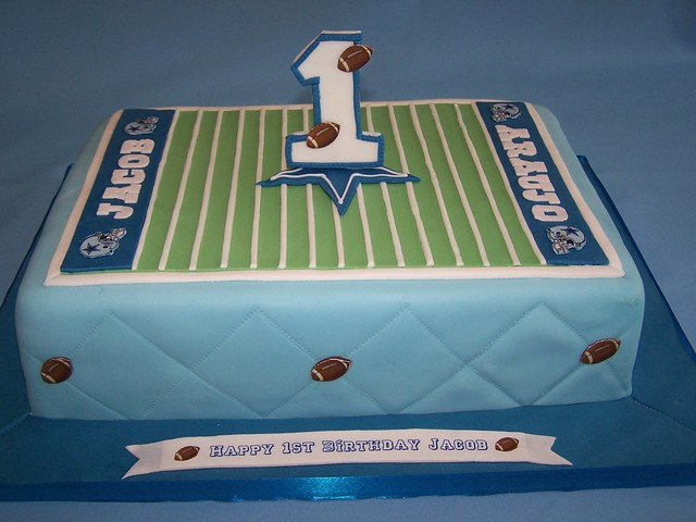 Football Themed Cakes http://www.flickr.com/photos/cakespace/2253509589/