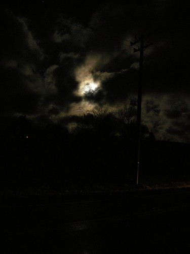 road sky cloud moon night dark landscape wire nikon telephone luna pole headlight
