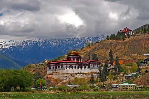Cloud-hidden, whereabouts unknown (Paro, Bhutan)
