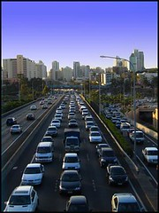 Daily Traffic by Burning Image