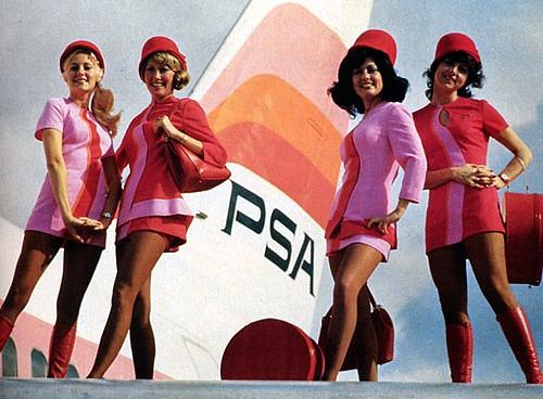 Vintage Flight Attendant Uniform 97